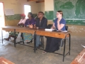 Meeting with village heads, Malawi